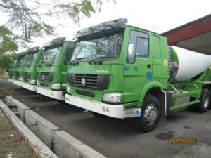 HOWO Concrete Mixer Truck for Construction pictures & photos