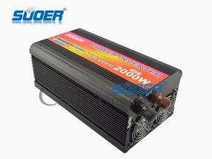 Suoer 2000W Solar Power Inverter DC 48V to AC 220V Power Inverter (HDA-2000F) pictures & photos