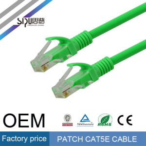 Sipu Fluke Testing UTP 24AWG CAT6 Patch Cable for Network