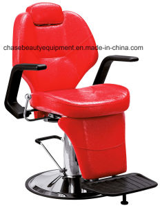 Red Color Barber Chair Hairdressing Chair Salon Furniture pictures & photos