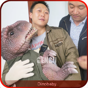 Dinosaur Exhibition 3D High Simulation Baby Dinosaur Puppet pictures & photos