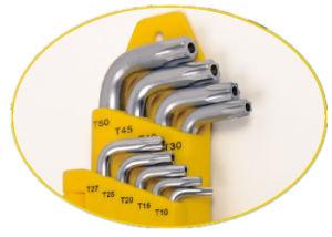 9PCS Cr-V Steel Wrench Torx Key Star Key Set pictures & photos