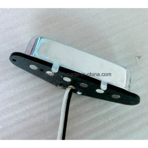 Hot Sale AlNiCo 5 Rod Flatwork Tele Neck Guitar Pickup pictures & photos