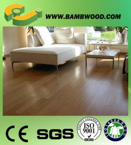 Bamboo Flooring Type and Charcoal Surface Treatment Solid Bamboo Flooring pictures & photos