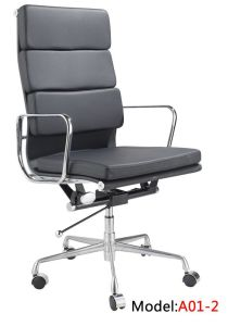 Modern Ergonomic Office Leather Revolving BIFMA Executive Eamess Chair (RFT-A01) pictures & photos