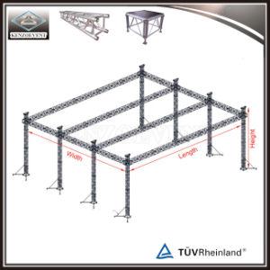 Flat Roof Truss Structure Lighting Box Truss