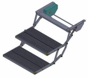 Es-F-D-600 Aluminum Electric Double Folding Step with Ce Certificate pictures & photos