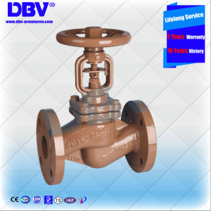 Industrial Bellow Sealing Globe Valve with Ce Approval