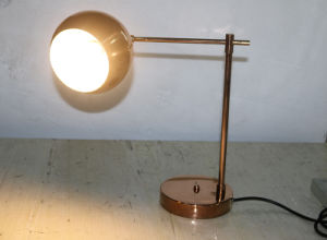 Decorative Metal LED Desk Lamp with Brushed Copper pictures & photos