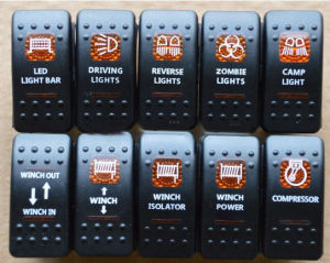Arb Daystar Carling Style Rocker Switch off Road Lights 4X4 pictures & photos