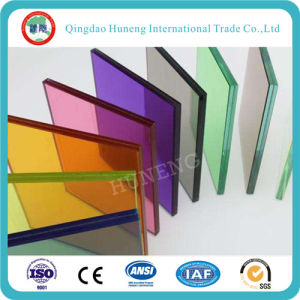8-40mm Grey/Bronze/Blue Laminated Glass with Ce pictures & photos