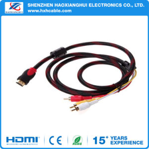 Wholesale 3FT HDMI to 3RCA Component Convert Cable for HDTV pictures & photos