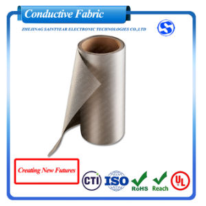 Factory Wholesale Military Grade EMI Fabric Ripstop Nickel Copper Conductive Fabric RFID Blocking Fabric for Wallets pictures & photos