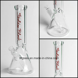 New 12 Inches Glass Smoking Pipe at Beaker Base in 9mm Waterpipe Water Pipe Thick Clear Thick pictures & photos