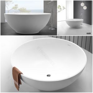 Sanitaryware Small Round Solid Surface Bath Tubs (BT1705264) pictures & photos