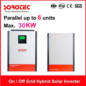 on/off -Grid Hybrid 3kVA-5kVA Pure Sine Wave Solar Inverter pictures & photos