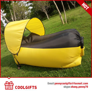 TPU Single Layer Inflatable Lazy Outdoor Sleeping Sofa Hangout Sofa Bed pictures & photos