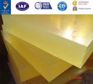Custom Urethane Sheets, Polyurethane Rods, Polyurethane Pads Cast Products, Cast Urethane Diaphragms pictures & photos