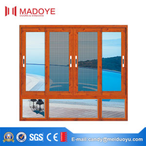 Aluminum Sliding Window Elegant Design with Fly Screen pictures & photos
