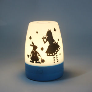 Portable Alkaline Battery Operated Plastic Luminary Camping LED Lighting Lantern pictures & photos