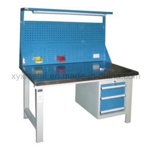 Steel Tools Drawers Work Table Workbench with Tools Wall and Light pictures & photos