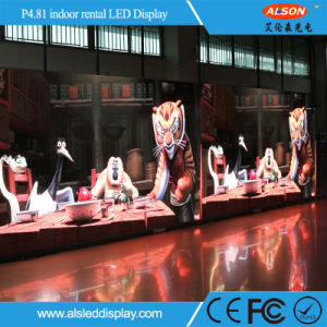Indoor Full Color P4.81 Stage Advertising Rental LED Display pictures & photos