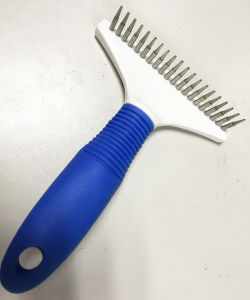 Pet Dog Grooming TPR Tools Comb pictures & photos
