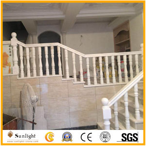 Natural Stone White Granite/Marble Stone Baluster for Railing Handrail pictures & photos