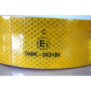 Pet Reflective Tape with E-MARK Printing pictures & photos