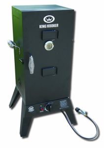 Low Pressure 30′′ Gas BBQ Smoker with Smoking Cabinet pictures & photos
