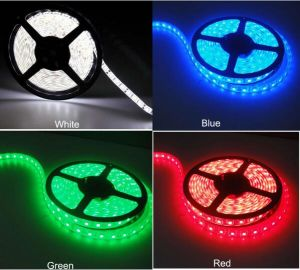 2017 Ce &RoHS&UL Approved DC12V24V 110V 220V SMD 5050 LED Flexible Strip IP68 14.4W 30 LED/M 60LED/M 120LED/M Red Yellow Blue Green White Warm White pictures & photos