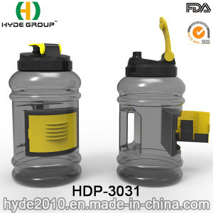 2.5L BPA Free PETG Plastic Sports Shaker Water Bottle (HDP-3031) pictures & photos