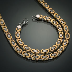 Star Fashion Jewelry Gentleman Stainless Steel Necklace pictures & photos