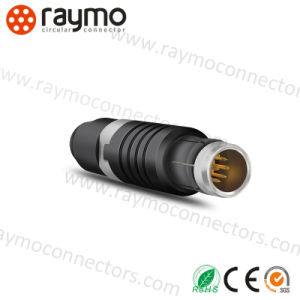 S Long Straight Plug Connector 6pin Electrical Male Connector pictures & photos