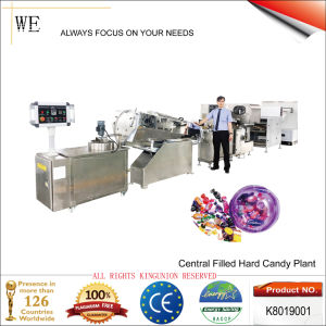 Central Filled Hard Candy Plant (K8019001) pictures & photos