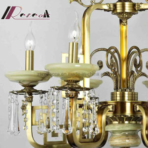 Retro Crystal Decorative Pendant Lamp with Antique Brass with Hotel pictures & photos