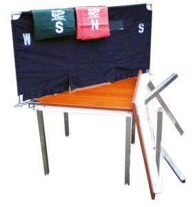 Soft Bridge Table Screen with Two Colors pictures & photos