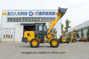 Chinese Manufacture Big Wheels Wheel Loader with Different Attachments pictures & photos