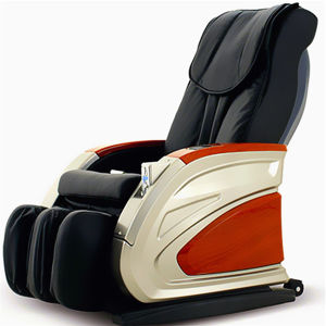 Wooden Armrest Vending Massage Chair with Coin Acceptor pictures & photos
