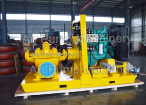 Horizontal Double Suction Split Case Centrifugal Pump with Motor Engines pictures & photos