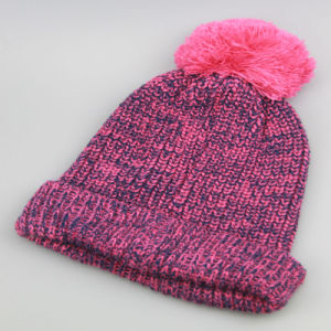 Custom Winter Hats with POM Poms, Beanie Knitted Hat, Custom Knitted POM Beanie Hat pictures & photos