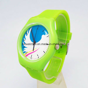 Promotion Girls and Boys Fashion Silicone Watches Waterproof pictures & photos
