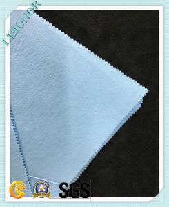 61GSM Blue Spunlaced Nonwoven Fabric Combine PE Film (drape)