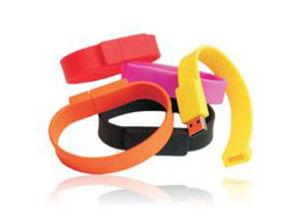 Wristband USB Flash Drives, Bracelet USB Flash Drives, Multi-Colour Wristband USB Flash Drives pictures & photos