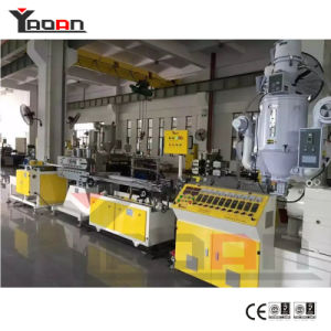Single and Double Colors T5 T8 T10 PC LED Tube Light Housing Extrusion Machine pictures & photos