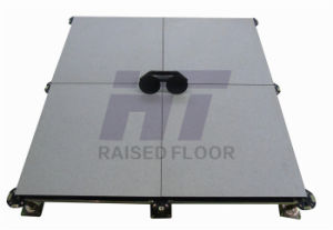 Antistatic Calcium Sulphate Access Floor with HPL Tiles pictures & photos