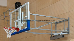 12mm Clear Tempered Glass Basketball Backboards with PU Padding pictures & photos