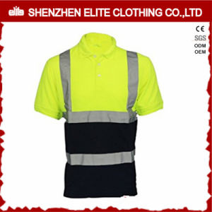 High Quality Customised Reflective Green Polo Shirt (ELTSPSI-23) pictures & photos