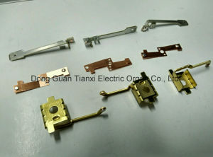 Rivet Contact and Stamping Armature/Copper Pin/Contact Plate pictures & photos