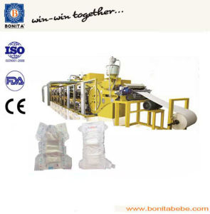 Full Automatic Disposable China Baby Diaper Machine Price